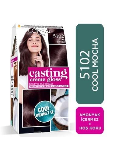 L'Oréal Paris L'Oréal Paris Casting Crème Gloss Saç Boyası - 5102 Cool Mocha Kahve